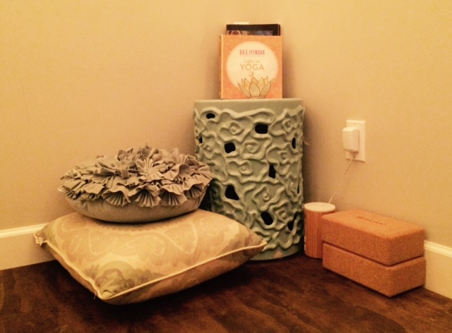 Creating a sacred space on a shoestring